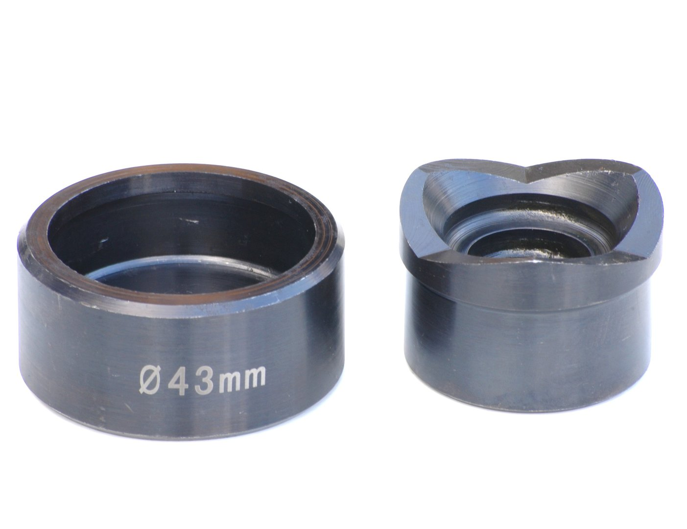 Ø 43 mm Blechlocher Lochstanze Lochknacker Stanz-Stempel brüniert Spüle  00248